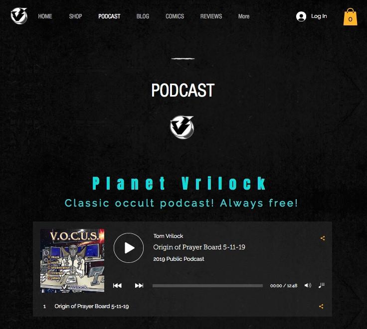 Planet Vrilock Psionics Podcast