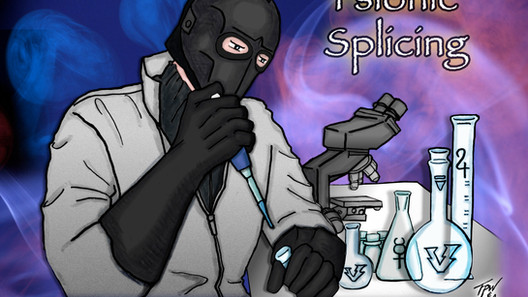 Psionic Splicing Book and Podcast