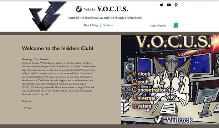 Vrilock Insiders Club and the V.O.C.U.S. Program