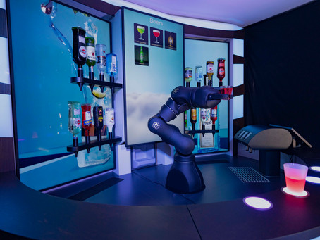 Robot Bartender from Switzerland Renowned A Great Solution Amid Covid Crisis