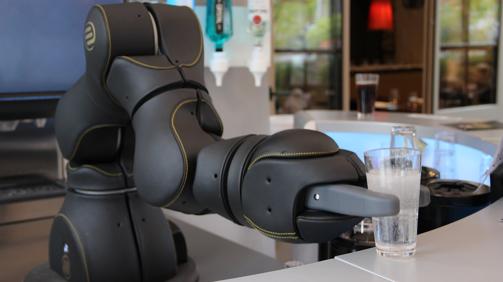 Coffee Robot Cafe