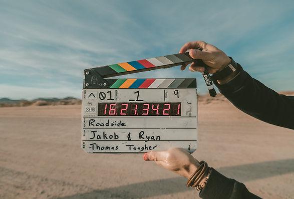 Film Clapboard - Primestar Digital