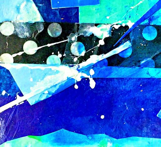 Dots Blue