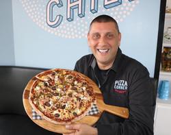 Pizza at Pizza Corner