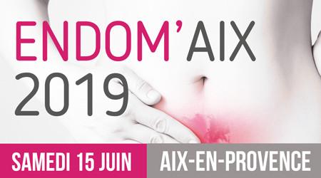 15 juin 2019 : Endom'Aix.  Participer au congrès sur l'Endométriose