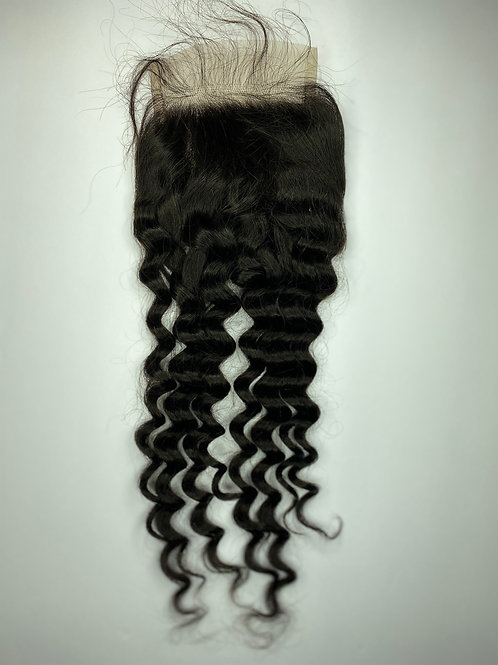 Deep Wave Transparent Closure 16""