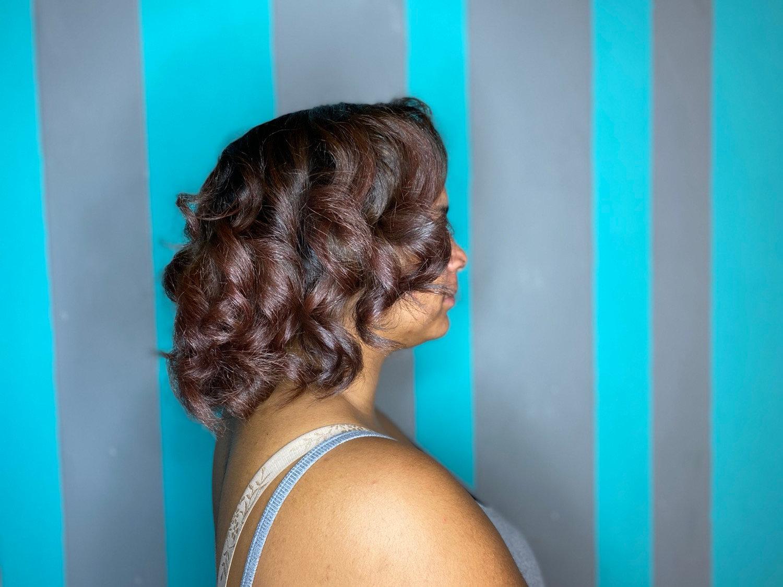 Natural Hair Ombré