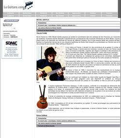 Critique du CD «  Live à l'Ouest de la Grosne » et interview par Jacques Carbonneaux pour LAGUITARE.