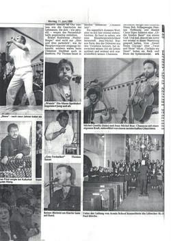 Allemagne, concert avec Jean Michel Brac