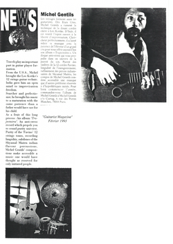 Guitarist Magazine sur le CD Trajectoires