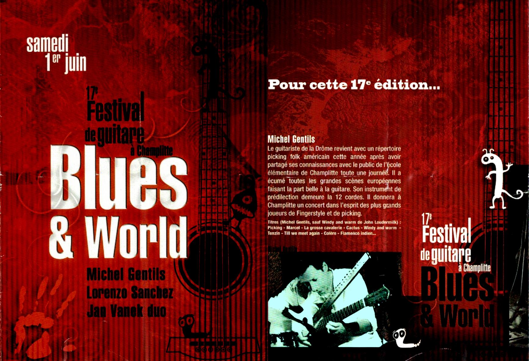 Festival Blues and World à CHAMPLITTE