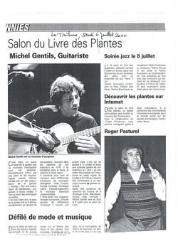 La Tribune, Salon du Livre et des Plantes, BUIS LES BARONNIES