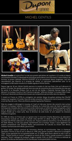 Sur le site du luthier Maurice DUPONT