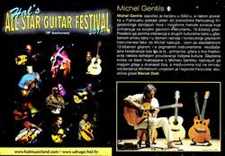 CROATIE « All Stars Guitar Festival » à RIJEKA