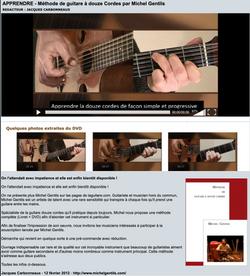 La guitare.com : La Méthode de Guitare 12 cordes