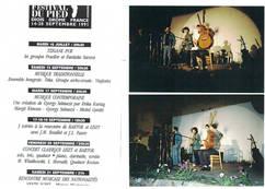 """1991 l'Ensemble """"Petite Europe"""" en FRANCE et en HONGRIE"""
