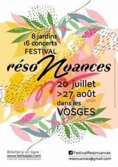 Festival réso'nuances 2021