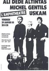 1988 En trio à GRENOBLE