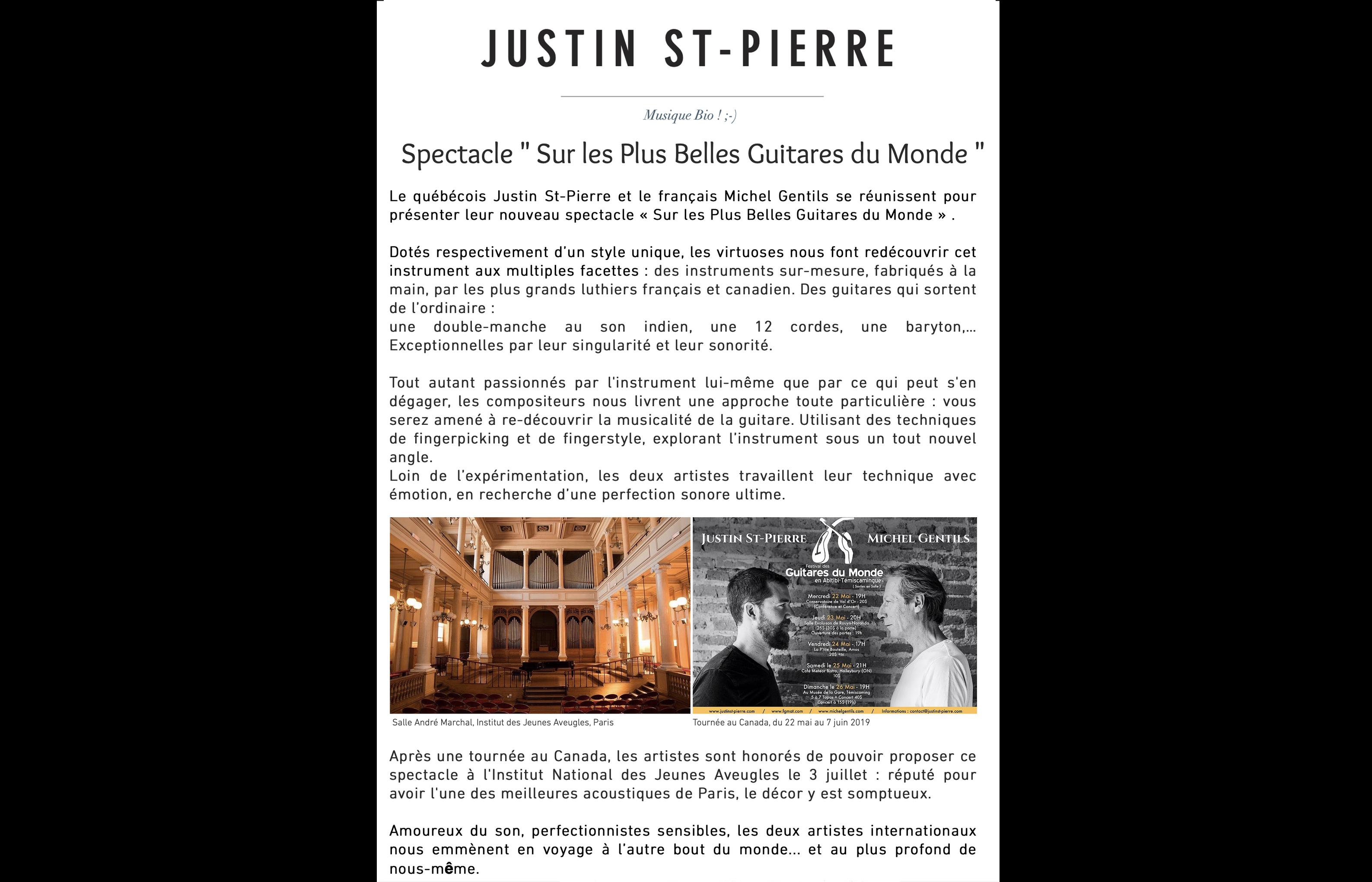 Avec Justin St-Pierre