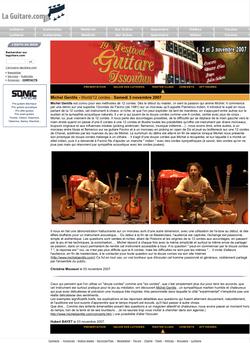 Laguitare.com : Masterclass au 19e Festival Guitare Issoudun