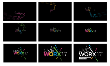 LiveWorX Logo Build Design Boards