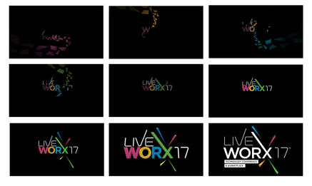 LiveWorX Logo Build Design Boards