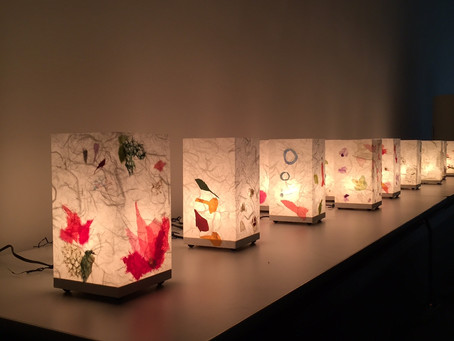 出張ワークショップって楽しい♪  | 手作りライト照明教室 PAPERMOON(東京 自由が丘)