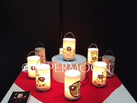 展示会のお知らせ @東京ビッグサイト | 手作りライト照明教室 PAPERMOON(東京 自由が丘)