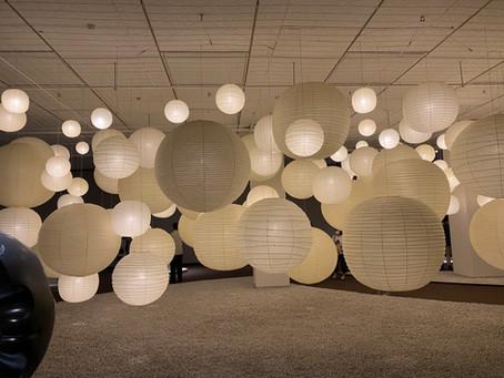 イサムノグチ 発見の道 於:東京都美術館 | 手作りあかり教室 PaperMoon(東京 自由が丘)