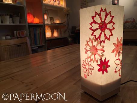 江戸の灯りワークショップ@青山 紅ミュージアム  | 手作りライト照明教室 PAPERMOON(東京 自由が丘)