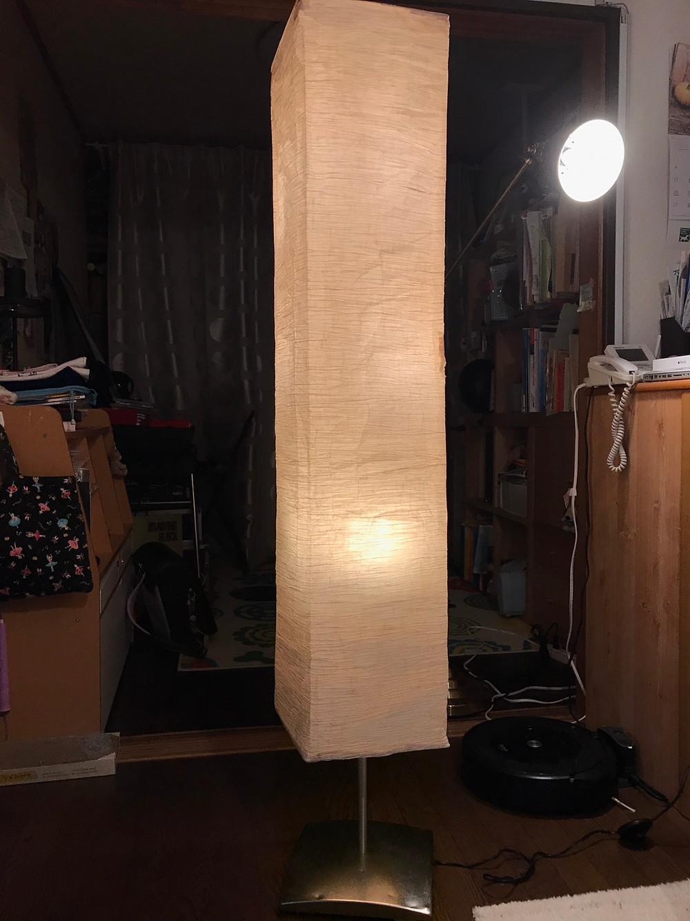 手作りあかり教室 PaperMoon(東京 自由が丘)ランプ修理 照明修理