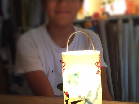 満員御礼 お盆ウィークレッスン | 手作りライト照明教室 PAPERMOON(東京 自由が丘)