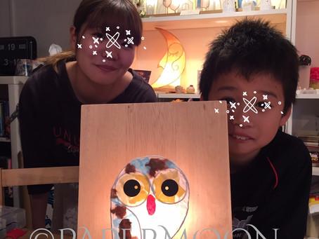 【残席僅か】大好評!夏休み子どもあかり塾! | 手作りライト照明教室 PAPERMOON(東京 自由が丘)