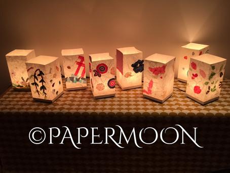 ワークショップご報告と、年末のご挨拶 | 手作りライト照明教室 PAPERMOON(東京 自由が丘)