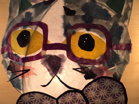 【猫ランプキャンペーン】今月のオススメ1Dayレッスン 照明手作り | 手作りライト教室 PAPERMOON(東京 自由が丘)
