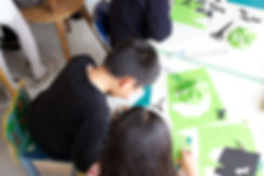 手づくりライト教室、PAPERMOON、ペーパームーン、東京自由が丘、出張教室