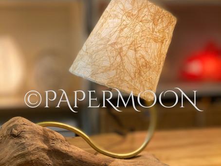 流木ランプ 二つ完成! | 手作りライト照明教室 PAPERMOON(東京 自由が丘)