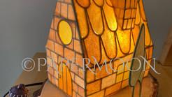 美味しいライト⁉️ お菓子のお家【生徒作品】 | 手作りライト照明教室 PAPERMOON(東京 自由が丘)
