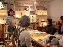 手づくりライト教室、PAPERMOON、ペーパームーン、東京自由が丘、講師養成コース