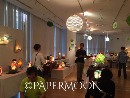 いよいよ明日から!【花鳥灯月 フクロウの森 展】 | 手作りライト照明教室 PAPERMOON(東京 自由が丘)