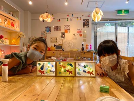 残席僅か!夏休み子どもあかり塾 | 手作りライト照明教室 PAPERMOON(東京 自由が丘)