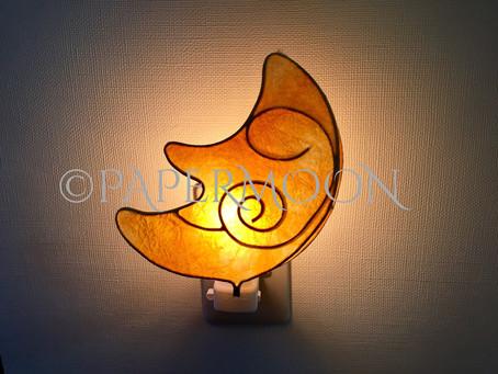 PAPERMOONの新作 ムーンライト、出張講座あります! | 手作りライト照明教室 PAPERMOON(東京 自由が丘)