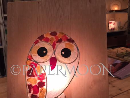 カップルdeあかりづくり | 手作りライト照明教室 PAPERMOON(東京 自由が丘)