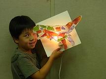 手づくりライト教室、PAPERMOON、ペーパームーン、東京自由が丘、夏休み子ども教室