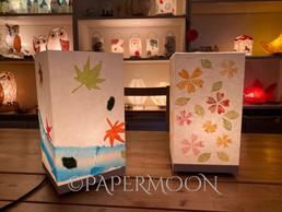 初秋のつぶやき | 手作りあかり教室 PaperMoon(東京 自由が丘)
