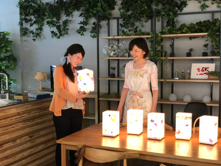 料金改定のお知らせ &受講カレンダー更新 | 手作りライト照明教室 PAPERMOON(東京 自由が丘)