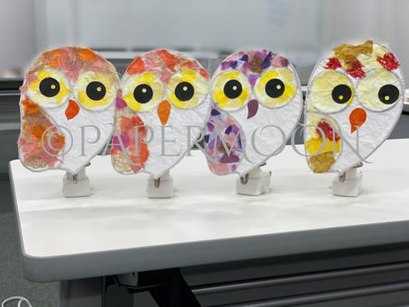 あかり作りは有用不急?? | 手作りライト照明教室 PAPERMOON(東京 自由が丘)