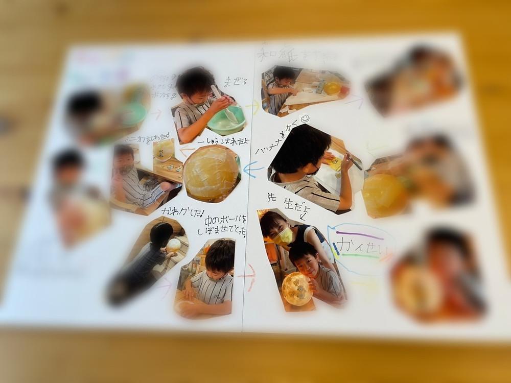 夏休み子どもあかり塾 | 手作りあかり教室 PaperMoon(東京 自由が丘)