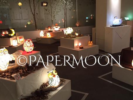 和紙の灯り展ー森のいきものたちースタートしました‼️ | 手作りライト照明教室 PAPERMOON(東京 自由が丘)