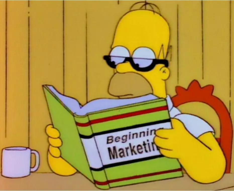 homer marketing memoria